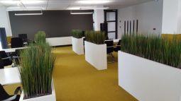 Artificial gras per strekkende meter opgemaakt